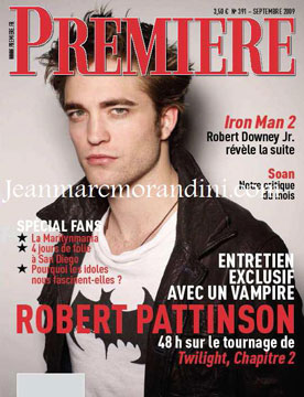 Photos of Robert Pattinson's French Premiere Magazine Cover, Scans of People Magazine's Dakota Fanning and Rob Volturi New Moon