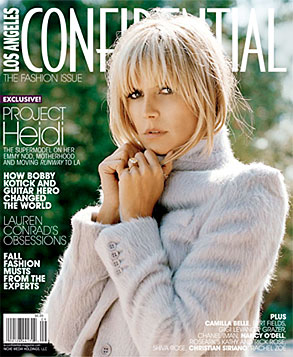 Heidi Klum's LA Confidential Cover and Quotes from Interview