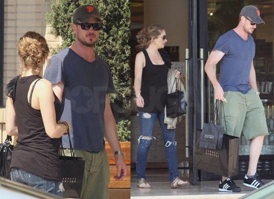 Photos of Eric Dane and Rebecca Gayheart