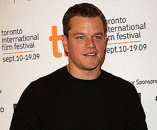 Slide Photo of Matt Damon at Press Conference For The Informant!