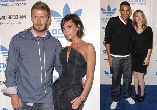 Photos of Victoria Beckham, Ellen Pompeo Post-Baby Debut, David Arquette, David Beckham at Adidas Party