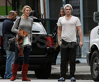 Blake Lively and Penn Badgley Together in NYC
