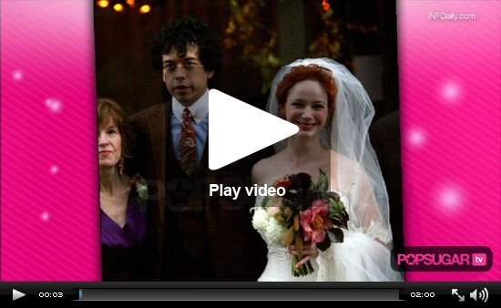We Chat With Clive Owen, Video of Xavier's Vampire Transformation and Christina Hendricks Weds Her Funny Man