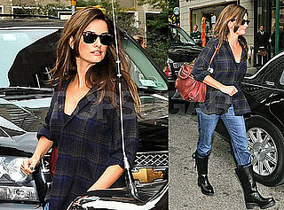 Photos of Possibly Engaged Penelope Cruz in NYC
