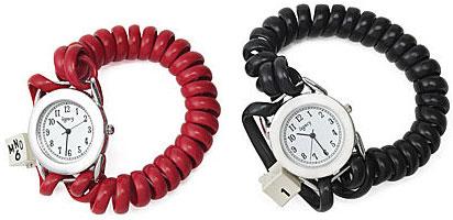 Telephone Cord Watch