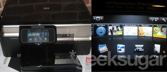 HP Unveils the Web-Friendly Photosmart Premium Printer