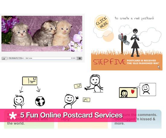 Five Fun Online Postcard Services