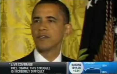 President Obama Gets Interrupted by a Funny Duck Sound Cell Phone Ringtone