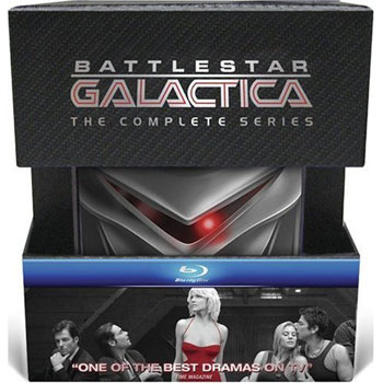 Battlestar Galactica: The Complete Series on Blu Ray Release on July 28