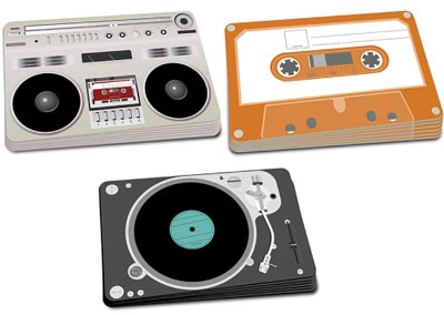 Vintage Gadget Place Mats For Your Dining Room Table