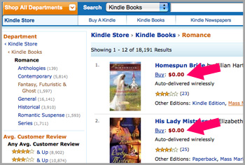 How to Find Free Kindle Book on Amazon