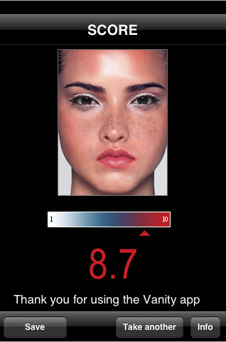Vanity iPhone App Measures Attractiveness