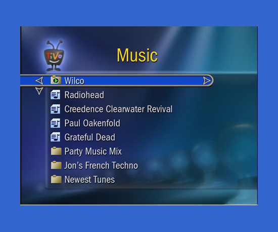 You Can Use TiVo to Play Music