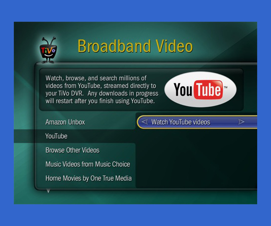 You Can Watch YouTube and Access Other Web Content