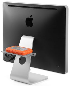 The BackPack For iMac and Cinema Displays Hides Your External Hard Drive, Other Stuff