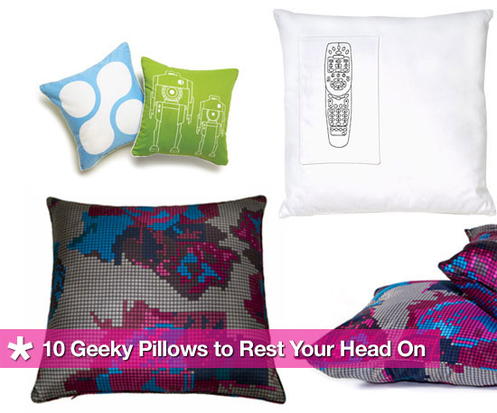 Check out 10 Geeky Pillows for Your Home