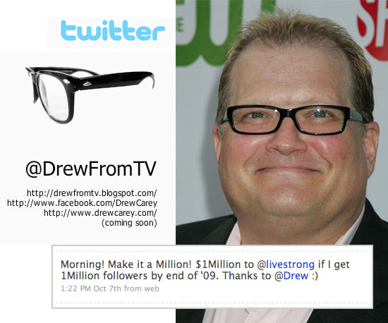 Drew Carey Wants a New Twitter Name