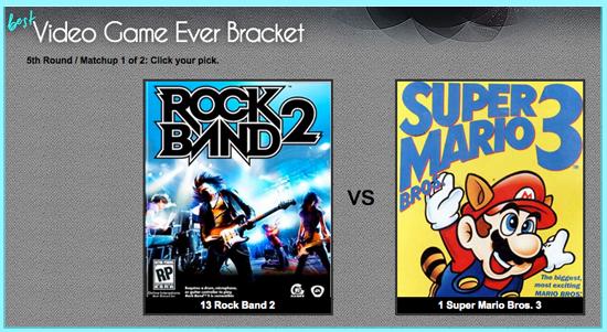 Vote in GeekSugar's Final Four Best Video Game Ever Bracket