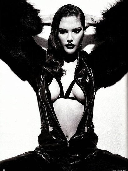 Girls on Film: Catherine McNeil, Vogue Germany, Aug. '09