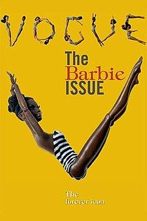 Photos of Vogue Italia's All Black Issue Featuring Barbie