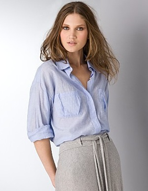The Look For Less: Elizabeth and James Artist Shirt