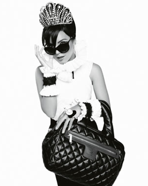 Photos of Chanel's Coco Cocoon Fall '09 Ad Featuring Lily Allen