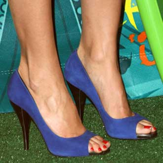 Photos of Shoes at 2009 Teen Choice Awards