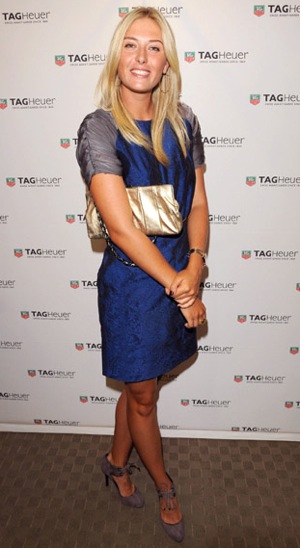 Tennis Player Maria Sharapova Co-Hosts the TAG Heuer Cocktail Reception in Toronto, Canada