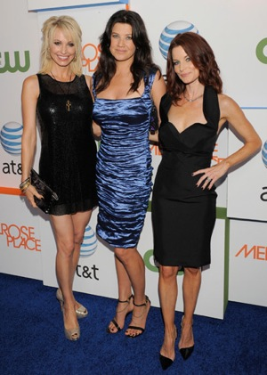 Pictures From Melrose Place Los Angeles Premiere Party