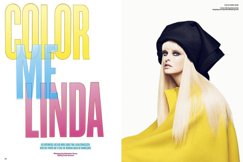 Girls on Film: Linda Evangelista, V Magazine, Issue 61
