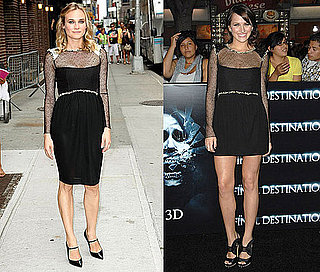 Diane Kruger and Shantel VanSanten Both Wear Chanel's Black Sheer Dress
