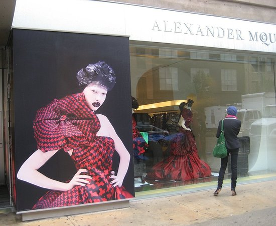 Fashion Week Quickie: McQueen's Wow Window