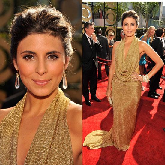 Photo of Jamie-Lynn Sigler on the Emmy Awards Red Carpet