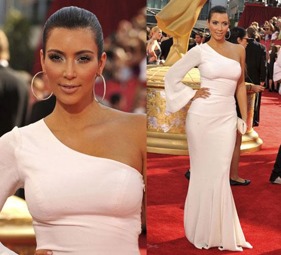 Photo of Kim Kardashian at 2009 Primetime Emmy Awards 2009-09-20 16:23:13