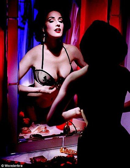 Dita Von Teese's Fall 2009 Wonderbra Ads