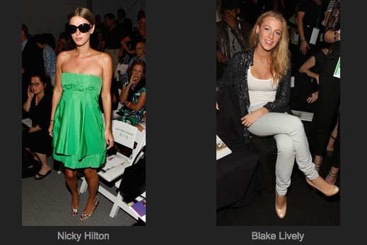 Fashion Week Front Row Faceoff!