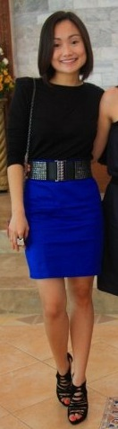 Look of the Day: Crazy For Cobalt