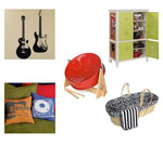 Music Themed Baby Rooms