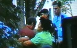 Family Baptism Celebration Turns Into Episode of COPS