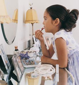 Makeup and Children