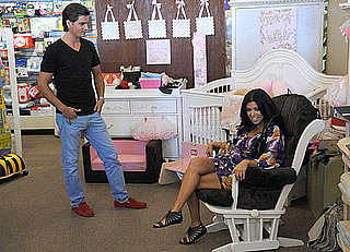 Kourtney Kardashian Shopping for Baby