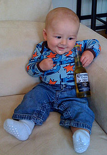 Kids Posing With Alcohol