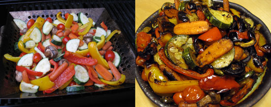 Back on Track: Grill Veggies For the Week
