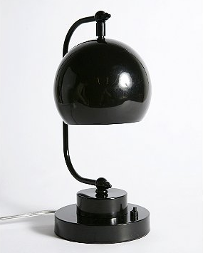 The Apothecary Desk Lamp ($38) with its globe-shaped shade has charming studious style.
