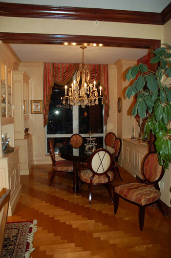 Before and After: A Real Housewife's Dining Room