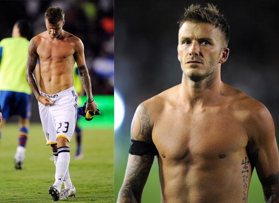 photos of shirtless david beckham popsugar celebrity uk