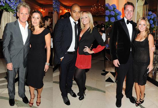 Gallery of Photos of Emma Bunton, Gordon Ramsay, Elton John, Geri Halliwell, Liz Hurley at Louis Dundas Centre Launch
