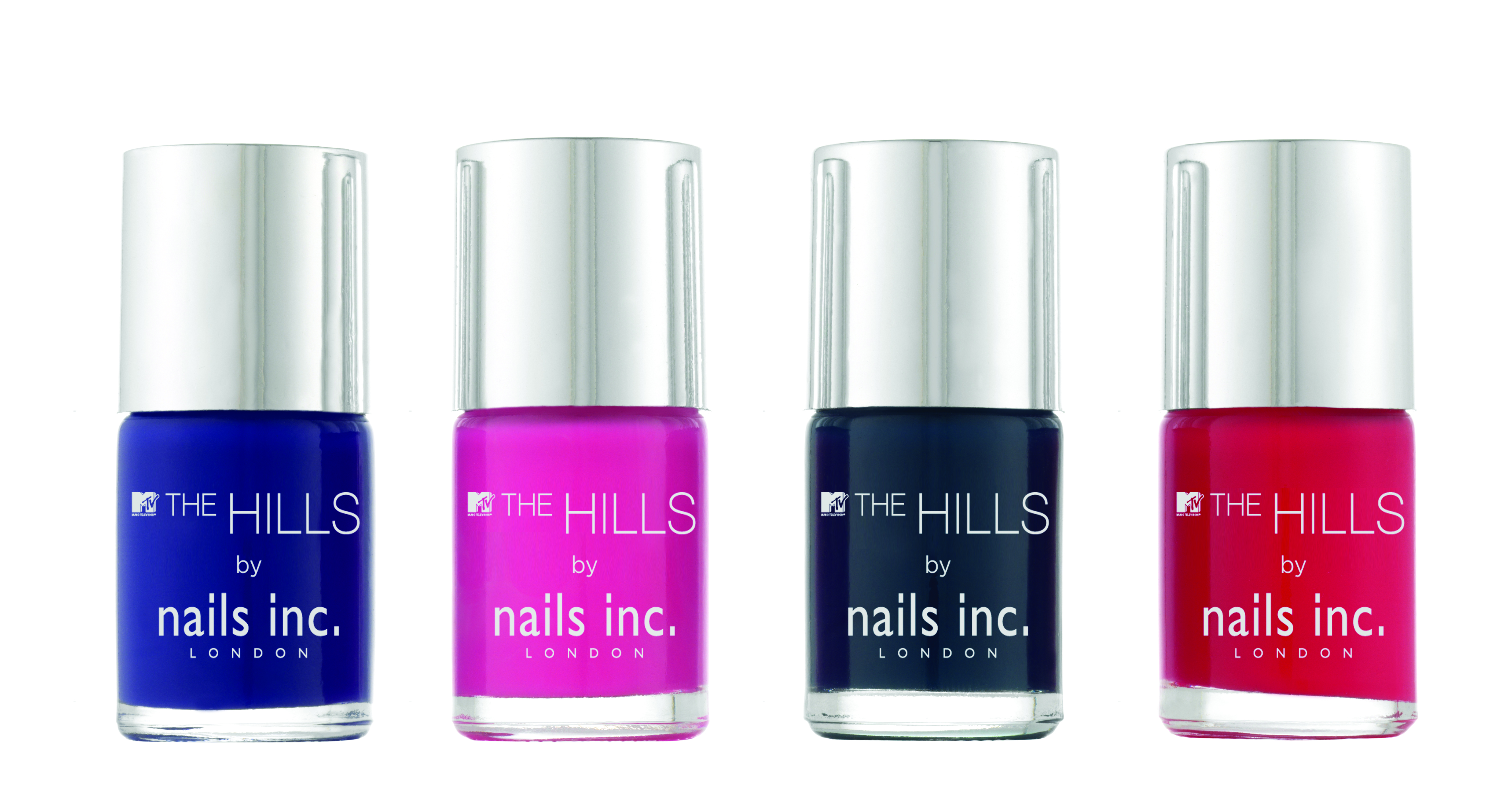 The Hills Collection from Nails Inc