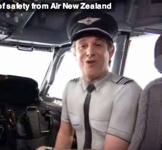 Air New Zealand's Naked Safety Video