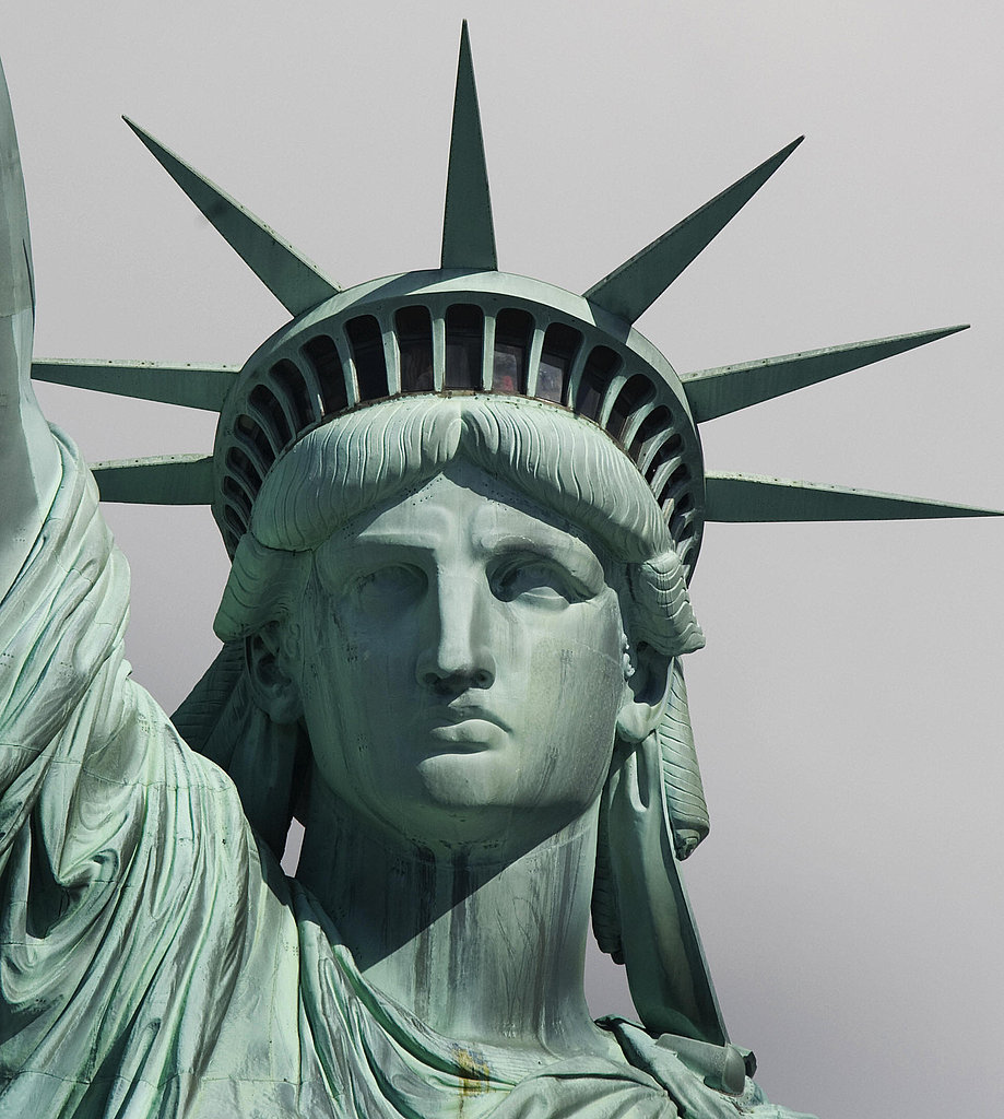 Abused Women May Be Able to Seek Asylum in the US ... Statue Of Liberty Drawing Face